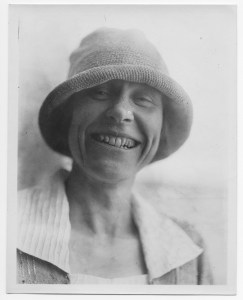 Portrait of relief worker Dorothy Sutton
