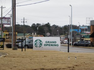 Starbucks in Jan. 2017