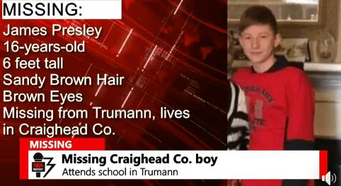 16 Year Old Found In Trumann Nea Report