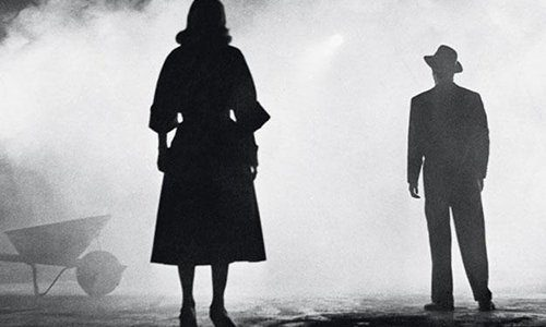 Film noir image from The Big Combo (1955).
