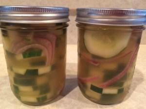 Vinegared Cucumbers