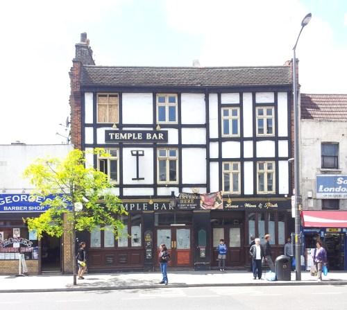 Closed Temple Bar