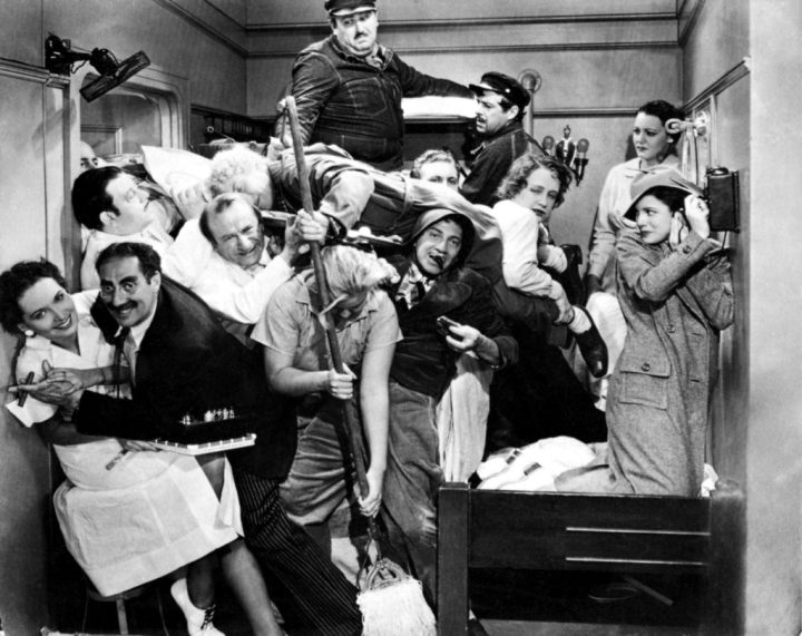 Marx Brothers Crowded room