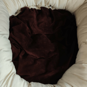 Fancy Bed for Pets   Brown