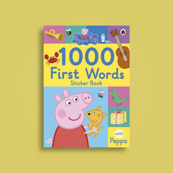 peppa pig 1000 first