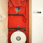 Blower Door test used to measure building envelope leakage