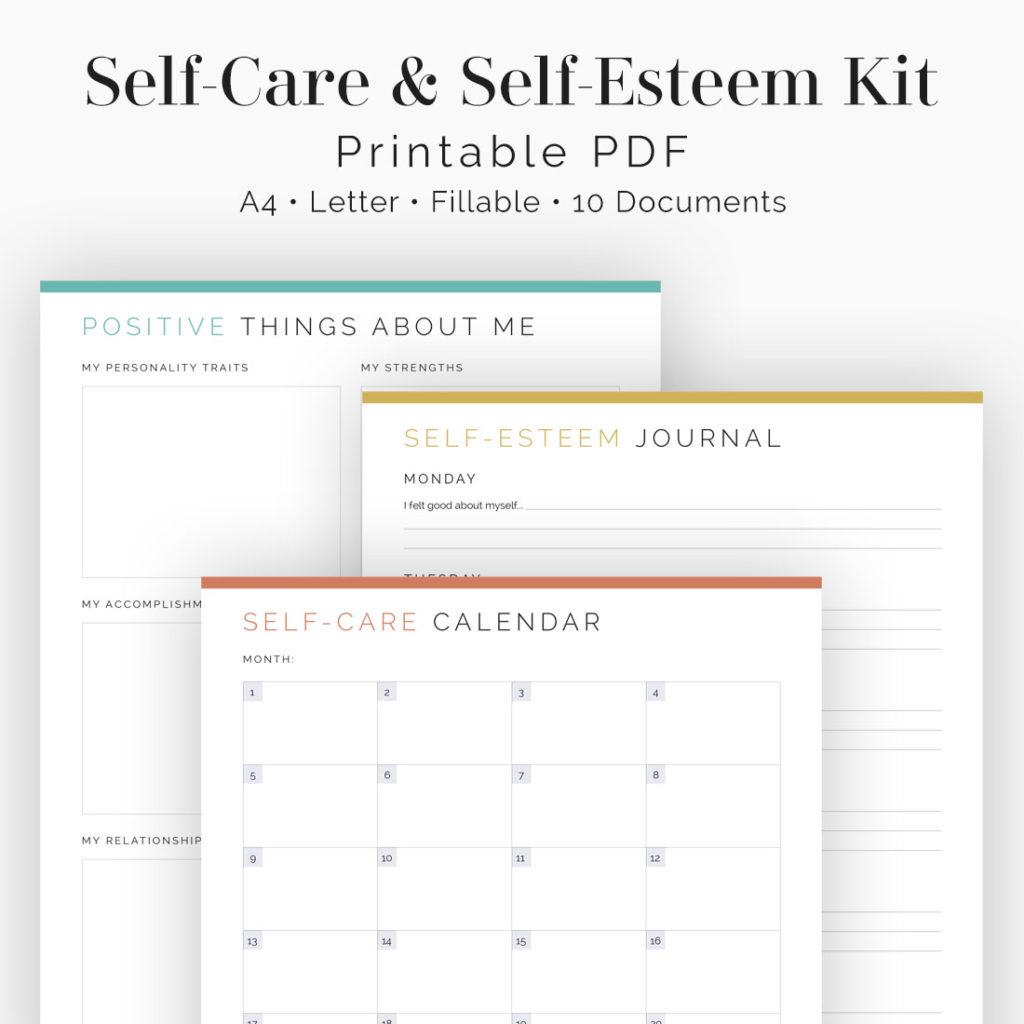 Self Care Amp Self Esteem Kit