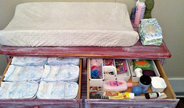 Easy Tips for Baby Dresser Organization