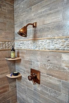 Wall Design In Bathroom