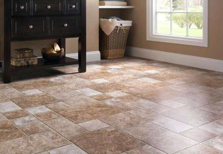 Gray Floor Tile