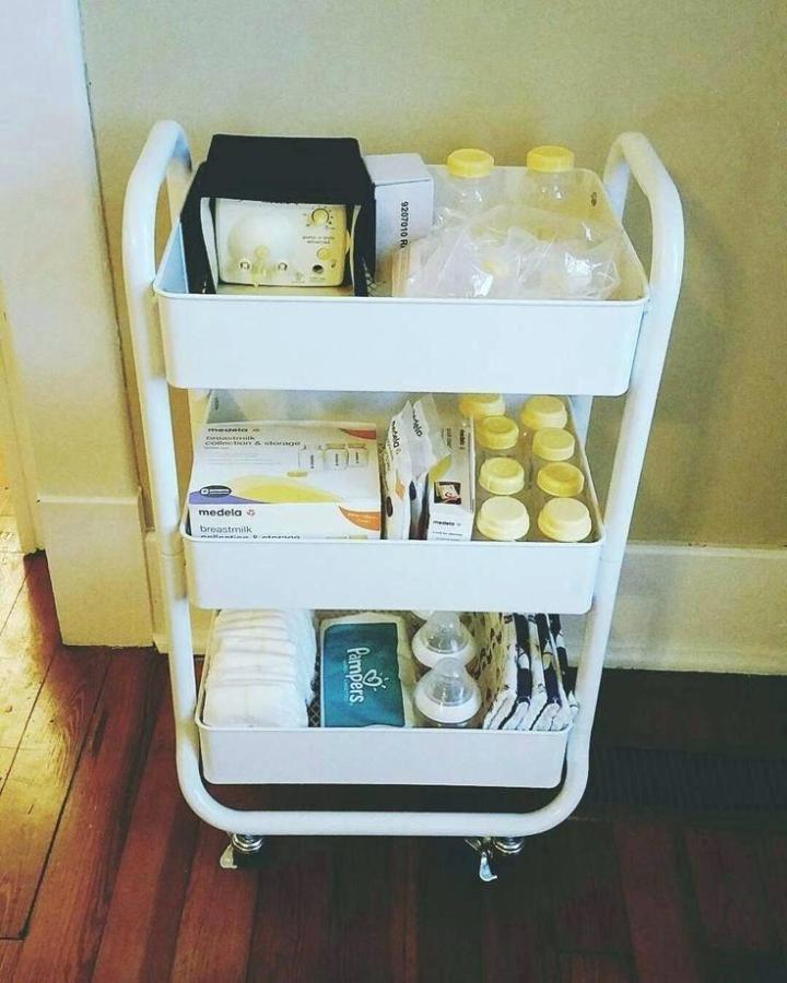 Changing Table Organizer