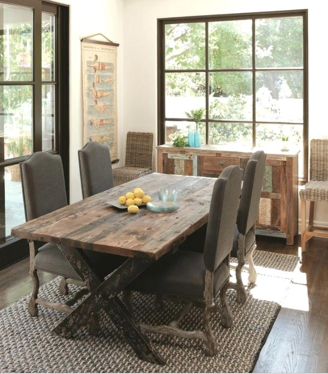 Rustic Dining Room Table Build