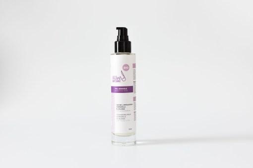 Leche limpiadora piel sensible