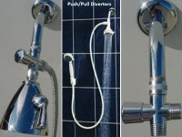 Shower Head Diverter Valves
