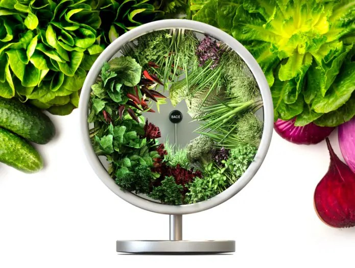 Rotofarm: A Beautiful NASA-Inspired Indoor Garden