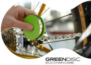 Green Disk Easy Bike Chain Lubricator