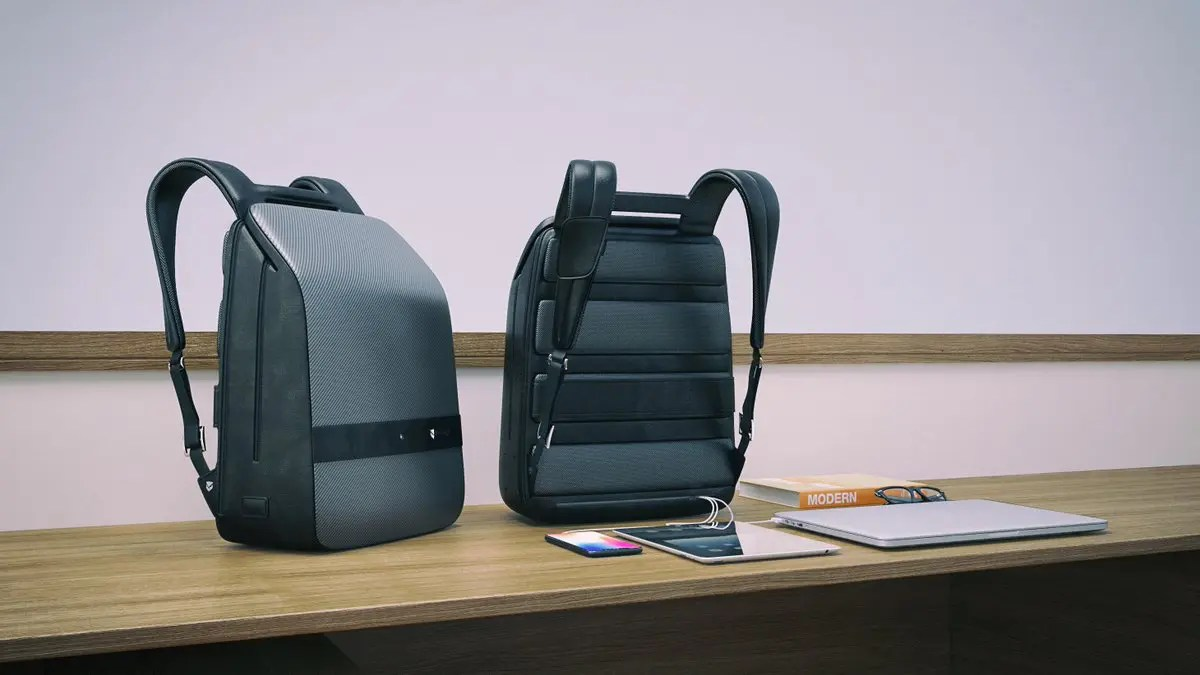 Lumzag backpack with 7 features