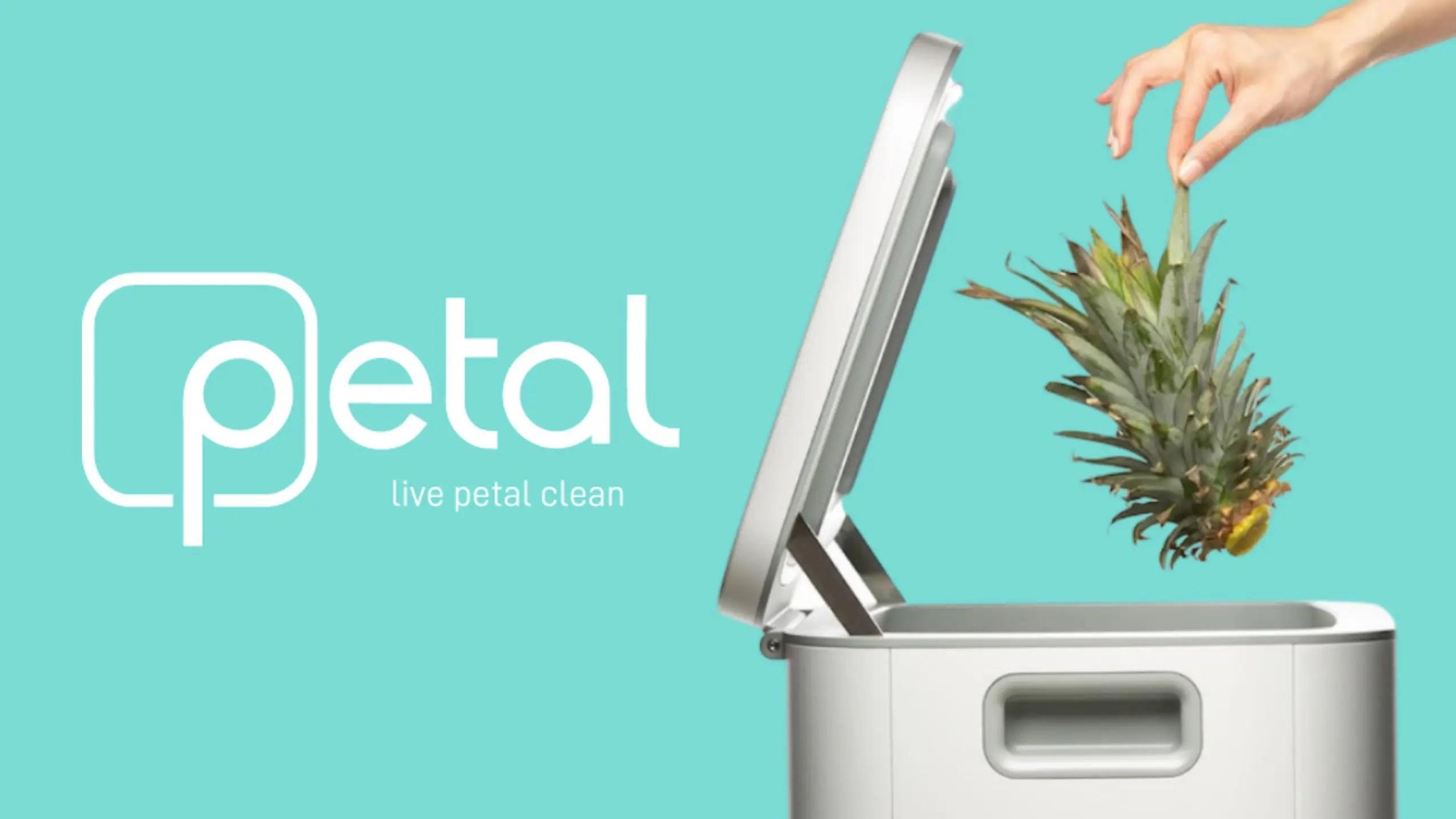 petal trash can