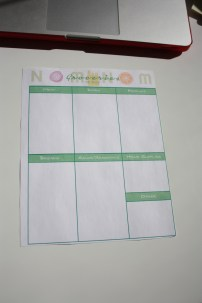 Planner Size Groceries To Buy Printable