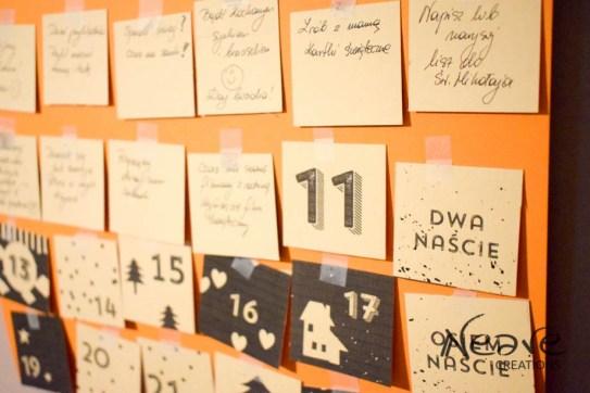 Kalendarz adwentowy @NeaveCreations 2016
