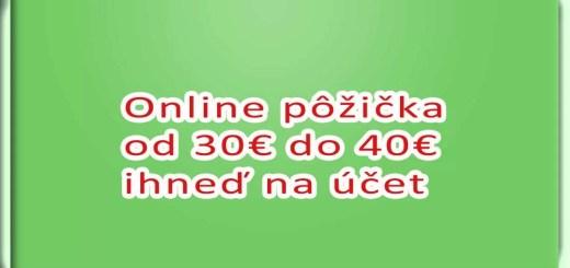 Online pujcka pred výplatou nové strašecí centrum