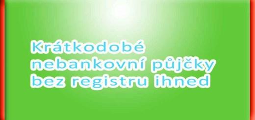 Pujcky online bez registru kroměříž