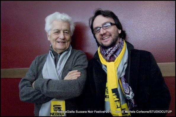 Loriano Macchiavelli e Paolo Roversi all'edizione 2011 del NebbiaGIalla