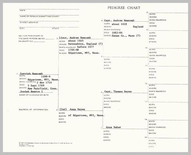 REBECCA BEARCE by LIONEL NEBEKER March 22 1987 PREFACE10