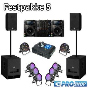 Festpakke 5 (DJ)  15″ top +18″ sub  NXS2  Storm