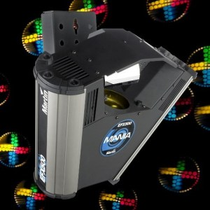 Lys Pakke (1 x Lampe) Martin EFX 500