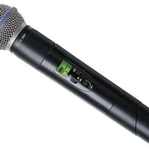 Mikrofon – Trådløs – Håndholdt – ULX – Shure Beta 58A ULX2-R4