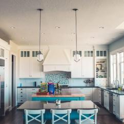 Colored Kitchen Islands White Cabinets With Glass Doors Why Contrasting Add A Pop Of Color To Your Design Scheme