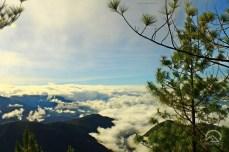 Sea of clouds at Paasa Peak of Mt. Kemalugong