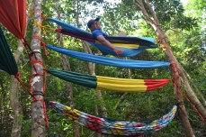 Hammock party at Campsite courtesy of OFF THE GRID