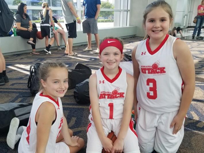 Parker Minzel, Ellie Leuschen & Charlie Guzinski (3rd Grade)