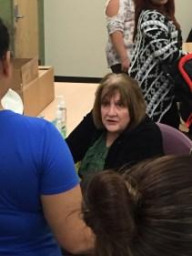 A volunteer dental hygienist, Janet Wehrli, graciously volunteered to help!