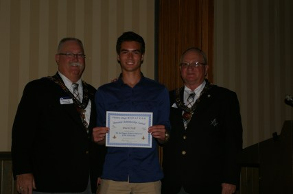 Rod Rogert Scholarship Winner Devin Hall