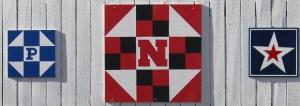 Nebraska Outlaw Trail Scenic Byway Barn Quilt- Nebraska Logo