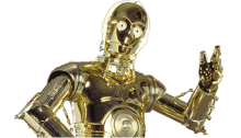 Picture of C3P0 from Star Wars