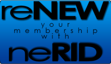 Renew your membership with neRID