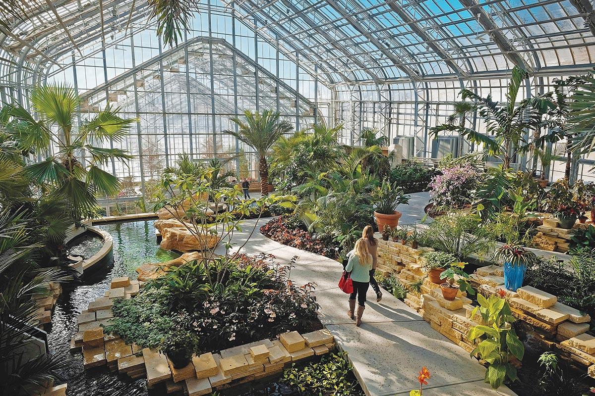Botanical Gardens Omaha Nebraska