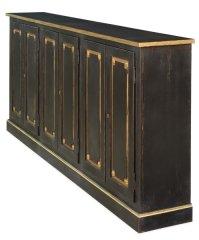 Black Sideboard Cabinet Buffet | Martelle