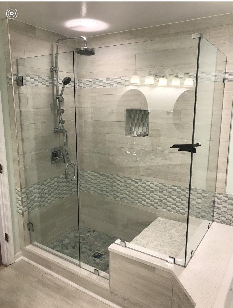 Custom shower enclosures  Hodges Window and Glasscom