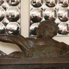 Art Deco Style Club Chairs Lawn Chair Webbing Repair Ugo Cipriani Sculpture   Galleria D'epoca Vintage Designer Furniture