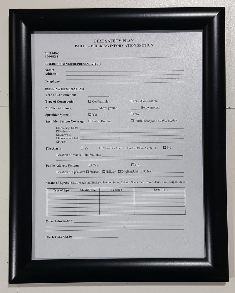Nyc Hpd, Management Hallway Sign, Hpd Required Signs, Hpd Signs, Nyc  Fire Department Sign, Fire Safety Notice, Fire Safety Plan, Fire Safety  Information