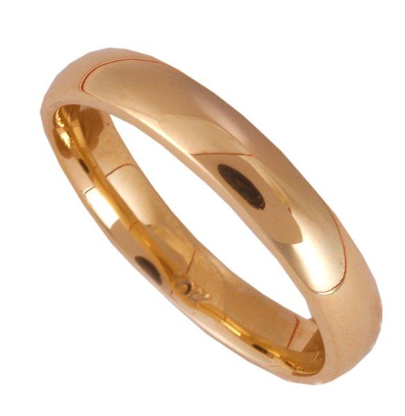 'Plain Gold' Ring