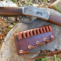 Leather Buttstock Rifle Cartridge Carrier | Badger Claw ...