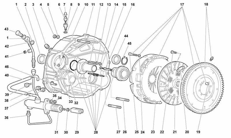 Lamborghini Murcielago Diablo 96/01 Performance Clutch