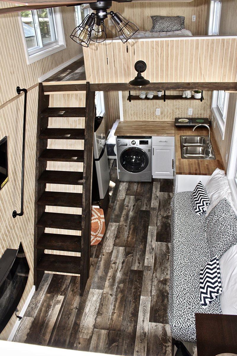 28 Chalet Shack Tiny House On Wheels  Mini Mansions Tiny
