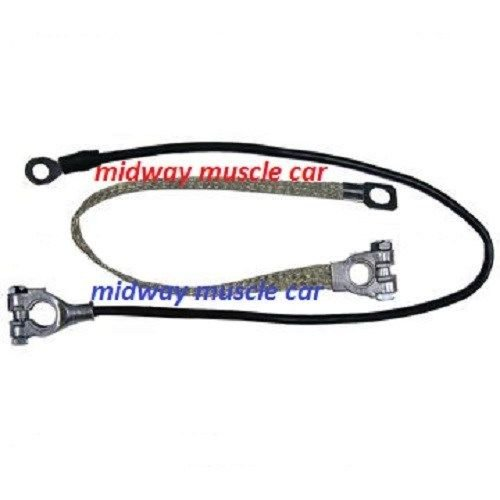55-61 Chevy Corvette original Correct BATTERY CABLE Set